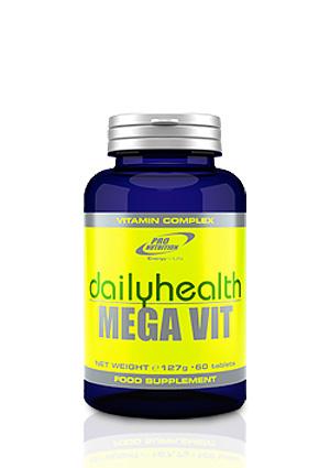 Pro Nutrition Megavit 60 tabl. vitamin és ásványi anyag